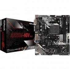 Материнская плата ASRock A320M-HDV R4.0 S AM4, AMD A320