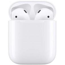 Наушники с микрофоном APPLE AirPods, with Charging Case, Bluetooth, вкладыши, белый [mv7n2ru/a]