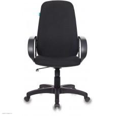 Кресло руководителя БЮРОКРАТ CH 279, на колесиках, ткань, черный [ch 279 bl]