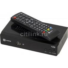 Ресивер DVB-T2 HARPER HDT2-5010,  черный