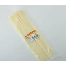 Хомуты-стяжки  400х4.8 мм REXANT кабельные нейлон (пластик) Белые min100шт