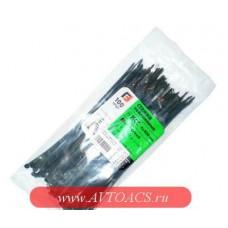 Хомуты-стяжки  200х4.0 мм (3,6мм) REXANT кабельные нейлон (пластик) Черные min100