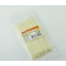Хомуты-стяжки  200х4.0 мм REXANT кабельные нейлон (пластик) Белые min100