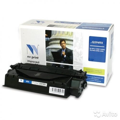 Картридж Q5949X HP LJ 1320/3390/3392 (НВ-принт) 6000 стр.