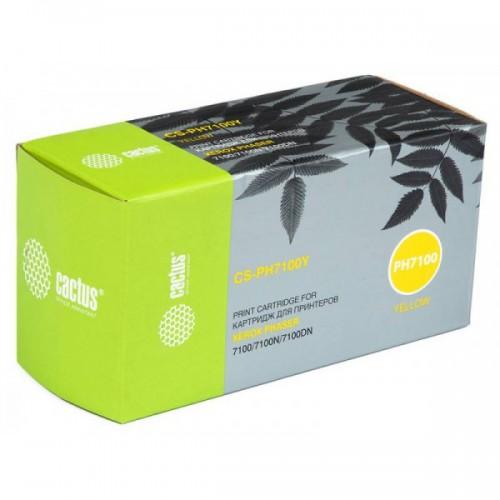 Тонер-картридж 106R02608 (Cactus CS-PH7100Y) Yellow для Xerox Phaser 7100/7100N/7100DN