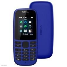 Мобильный телефон NOKIA 105 Dual SIM (2019) TA-1174,  синий