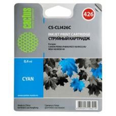 Картридж-чернильница CLI-426C (Cactus CS-CLI426C) Canon PIXMA iP4840/MG5140/MG5240/MG6140 Cyan 8.4 ml