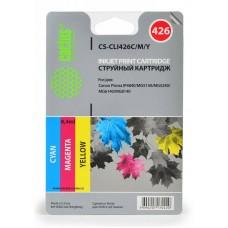 Картридж-чернильница CLI-426C/M/Y (Cactus CS-CLI426C/M/Y) Canon PIXMA iP4840/MG5140 комплект цветных