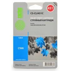 Картридж-чернильница CLI-451C (Cactus CS-CLI451C) Canon MG6340/MG5440/IP7240 Cyan 9.8 ml