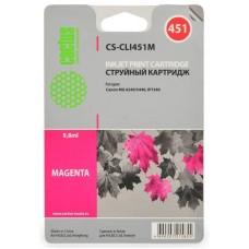 Картридж-чернильница CLI-451M (Cactus CS-CLI451M) Canon MG6340/MG5440/IP7240 Magenta 9.8 ml