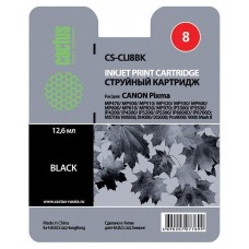 Картридж-чернильница CLI-8BK (Cactus CS-CLI8BK) Canon MP470/MP500/ MP530/MP600 Black 12 ml