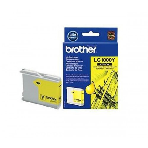 Картридж LC1000Y  Brother DCP-130C/330C MFC-240C/5460CN yellow 500стр