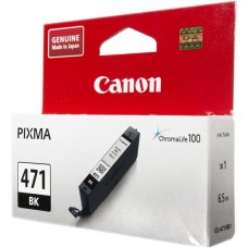 Картридж-чернильница CLI-471BK Canon Pixma MG5740/MG6840/MG7740 Black (0400C001)