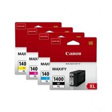 Картридж-чернильница PGI-1400XL BK/C/M/Y Canon MAXIFY МВ2040/2340 Black/Cyan/Magenta/Yellow (9185B004)