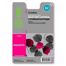 Картридж C4912(№82) HP Design Jet 500/800C Magenta (CACTUS)