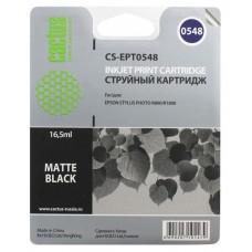 Картридж T0548 (Cactus CS-EPT0548) Epson Stylus Photo R800/R1800 Photo Black 16.5 ml