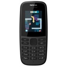 Мобильный телефон Nokia 105SS (2019) черный