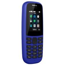 Мобильный телефон Nokia 105SS (2019) синий