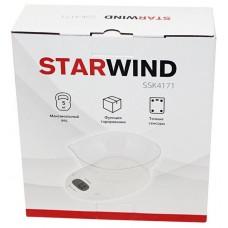 Весы кухонные STARWIND SSK4171,  белый