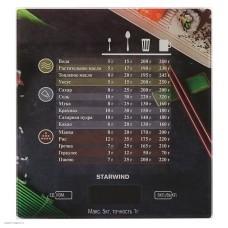 Весы кухонные STARWIND SSK3377,  рисунок