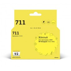 Картридж CZ132A(№711) для HP Designjet T120/520 (T2) Yellow