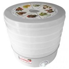 Сушилка для овощей и фруктов Дачница СШ-008 белый