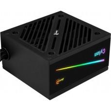 Блок питания Aerocool ATX 600W CYLON 600 80+ (24+4+4pin) 120mm fan color 5xSATA RTL