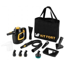 Пароочиститель ручной KITFORT КТ-930,  черный/оранжевый
