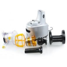 Соковыжималка электрическая Kitfort KT-1101 серебристый\черный