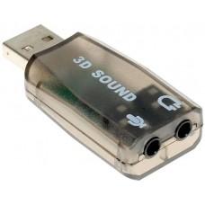 Внешняя звуковая карта Espada USB 2.0 Stereo Sound Adapter