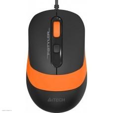 Клавиатура + мышь A4 Fstyler F1010 Black/Orange