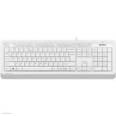 Комплект (клавиатура + мышь) A4Tech Fstyler белый F1010