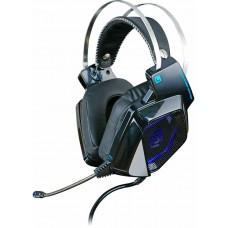 Наушники с микрофоном Oklick HS-L800G ALIEN черный 2.2м мониторы оголовье