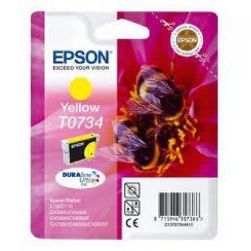 Картридж Epson T10544A10 для Stylus C79/CX3900/CX4900/ CX5900 Yellow