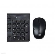 Комплект (клавиатура+мышь) OKLICK 220M черный [220M]