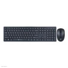 Комплект (клавиатура+мышь) OKLICK 240M черный [240M]