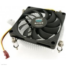 Кулер для процессора Cooler Master H115, Intel 115*, Al, 3pin, Ultra low profile