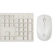Комплект (клавиатура+мышь) Oklick 240M White USB (1091258)