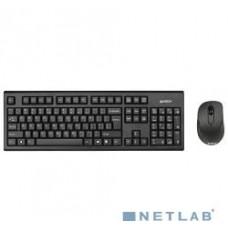 Комплект (клавиатура + мышь) A4Tech 7100N черный [613833]