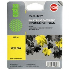 Картридж-чернильница CLI-426Y (Cactus CS-CLI426Y) Canon PIXMA iP4840/MG5140/MG5240/MG6140 Yellow