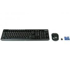 Комплект (клавиатура + мышь) Dialog Pointer RF черный [KMROP-4010U]