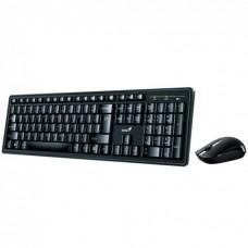 Комплект (клавиатура + мышь) Genius Smart KM-8100 черный [31340004402]