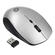 Мышь Oklick 565MW glossy black/silver (1103661)