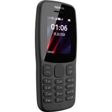 Мобильный телефон NOKIA 106 DS TA-114 серый [16NEBD01A02]