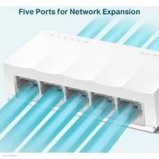 Коммутатор TP-Link LS1005 5x100Mb неуправляемый