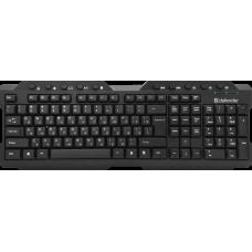 Клавиатура Defender Element HB-195 Black (45195)
