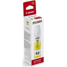 Картридж струйный Canon GI-40 Y 3402C001 желтый (70мл) для Canon Pixma G5040/G6040