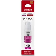 Картридж струйный Canon GI-40 M 3401C001 пурпурный (70мл) для Canon Pixma G5040/G6040
