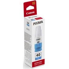 Картридж струйный Canon GI-40 C 3400C001 голубой (70мл) для Canon Pixma G5040/G6040