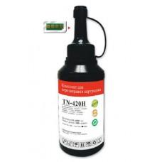 Тонер Pantum TN-420H черный флакон с чипом